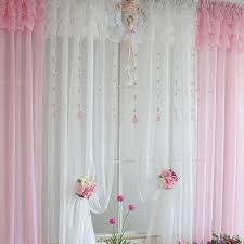 White Ruffled Curtains by Ruffle Curtain