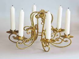 Real Candle Chandelier Diy Candle Chandelier Best Home Decor Ideas Beautiful And