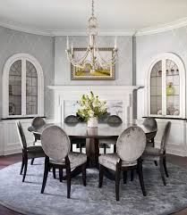 transitional dining room tables chicago elegant wallpaper dining room traditional with pedestal