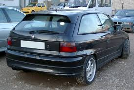 opel astra gsi technical details history photos on better parts ltd