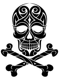Scottish Pirate Flag Skull And Crossbones Tattoos