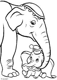 dumbo mother coloring pages hellokids