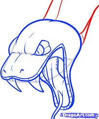 how to draw a snake head draw snake heads step by step snakes