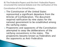 helped write the federalist papers ogt review mr patty crunch time ppt download 8 the federalist papers and the anti federalist papers structured the national debate over