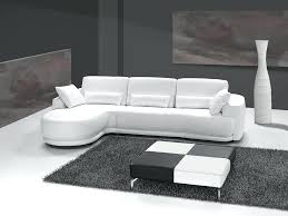 canap blanc cuir canape d angle cuir blanc design canapac na8 dangle reversible