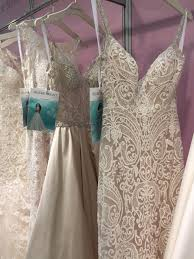 5 new wedding dress trends we spotted at the london bridal show