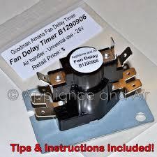 c65 115 305234 goodman janitrol amana blower fan timer relay