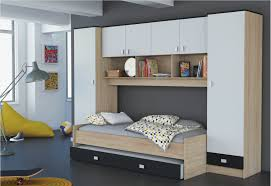 chambre cool pour ado mobilier pas cher armoire meuble adolescent fille fly garcon blanc