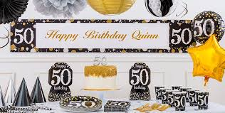 50th birthday party supplies sparkling celebration 50th birthday party supplies party city canada
