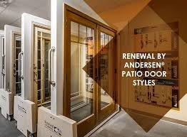 Patio Door Styles Renewal By Andersen Patio Door Styles
