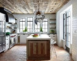 wooden kitchen island reclaimed wood kitchen island mission kitchen