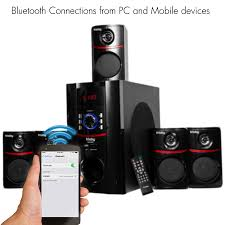 tv home theater system frisby fs 5010bt 5 1 surround sound home theater speakers system
