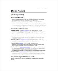 Freelance Writer Job Description For Resume by Freelance Resume Template 6 Free Word Pdf Documents Download