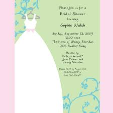 gift card bridal shower sle invitations for wedding shower awesome gift card bridal