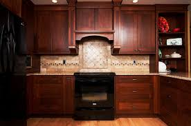 Espresso Cabinets With Black Appliances Lately Black Cabinets Installed By Kitchen Az Cabinets Make A Bold