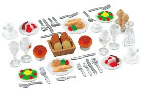 dinner for two set sylvanian families europe