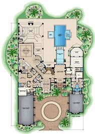 Coolhouseplan Com by Mediterranean Home Plans And Spanish House Floor Plans At