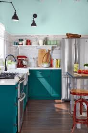 Blue Green Kitchen - best 25 teal cabinets ideas on pinterest bohemian kitchen teal