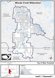 Algonquin Map Algonquin Il Document Center Woods Creek Watershed Study