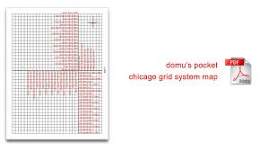 chicago map streets chicago guide of the grid system domu chicago