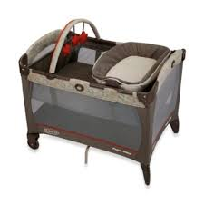 Pink And Brown Graco Pack N Play With Changing Table Graco Pack And Play Playard From Buy Buy Baby