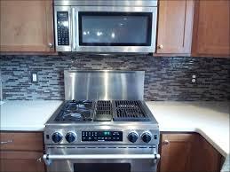 kitchen stacked stone backsplash home depot stainless steel