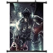 buy gaming wall posters tekken game devil jin fighting fighter