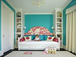 bedroom turquoise daybed bedroom with vertical shelves and