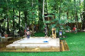 Things In A Backyard Summer Fun In A Backyard Splashpool Ziggity Zoom