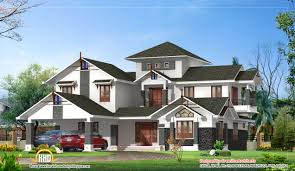 luxury home design 2910 sq ft kerala home design and floor plans