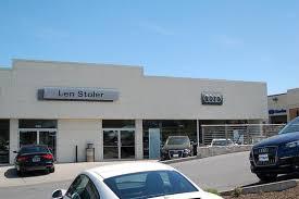len stoler audi len stoler porsche owings mills md 21117 car dealership and