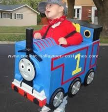 Conductor Halloween Costumes Coolest Homemade Thomas Train Halloween Costume Ideas Train