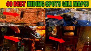 Top Spot Maps Top 40 Best Hiding Spots All Maps No Glitches Prop Hunt Cod Ww2