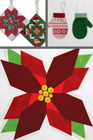 205 best christmas quilts images on pinterest quilt patterns