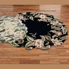 7 Round Area Rug Magnolia Garden Sculpted Wool Area Rugs
