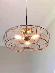 industrial metal fan light u2013 out of the woodwork designs