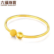 simple gold bracelet jewelry images Liu fu jewelry simple gold bracelet female opening elastic jpg