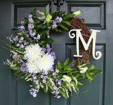 wreaths by homehearthgarden etsy com casual country monogram