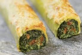 cuisine epinard recette de cannelloni au safran farcis aux épinards à la ricotta facile