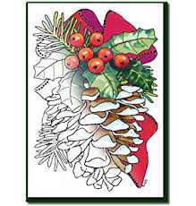 20 christmas cards to colour unknown 9781409598459 amazon com
