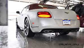 white bentley sedan first drive review 2015 bentley continental gt v8s white satin 79