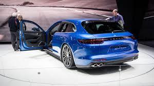 Porsche Panamera Back - 2018 porsche panamera sport turismo porsche shows first wagon