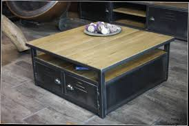 Salon Style Industriel by Faire Une Table Basse Style Industriel U2013 Phaichi Com