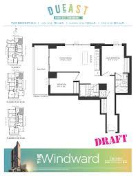 floor plan condo dueast condos floorplans pricing u0026 platinum access regent