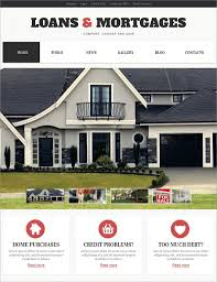 Free Real Estate Website Templates Wordpress by 30 Mortgage Wordpress Themes U0026 Templates Free U0026 Premium Templates