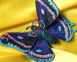 butterfly 0006 3d machine embroidery designs