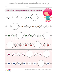number and counting worksheets for kindergarten free