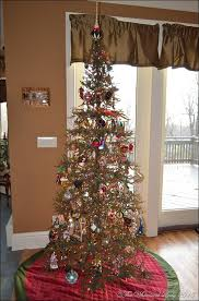 impressive decoration vienna twig tree 7 pre lit slim