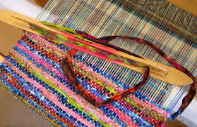 How To Make A Rag Rug Weaving Loom Weaving With Rags A Cure For The Winter Blues John C Campbell