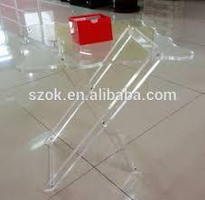 Acrylic Accent Table Cheap Clear Folding Acrylic Accent Table Acrylic Side Table Buy